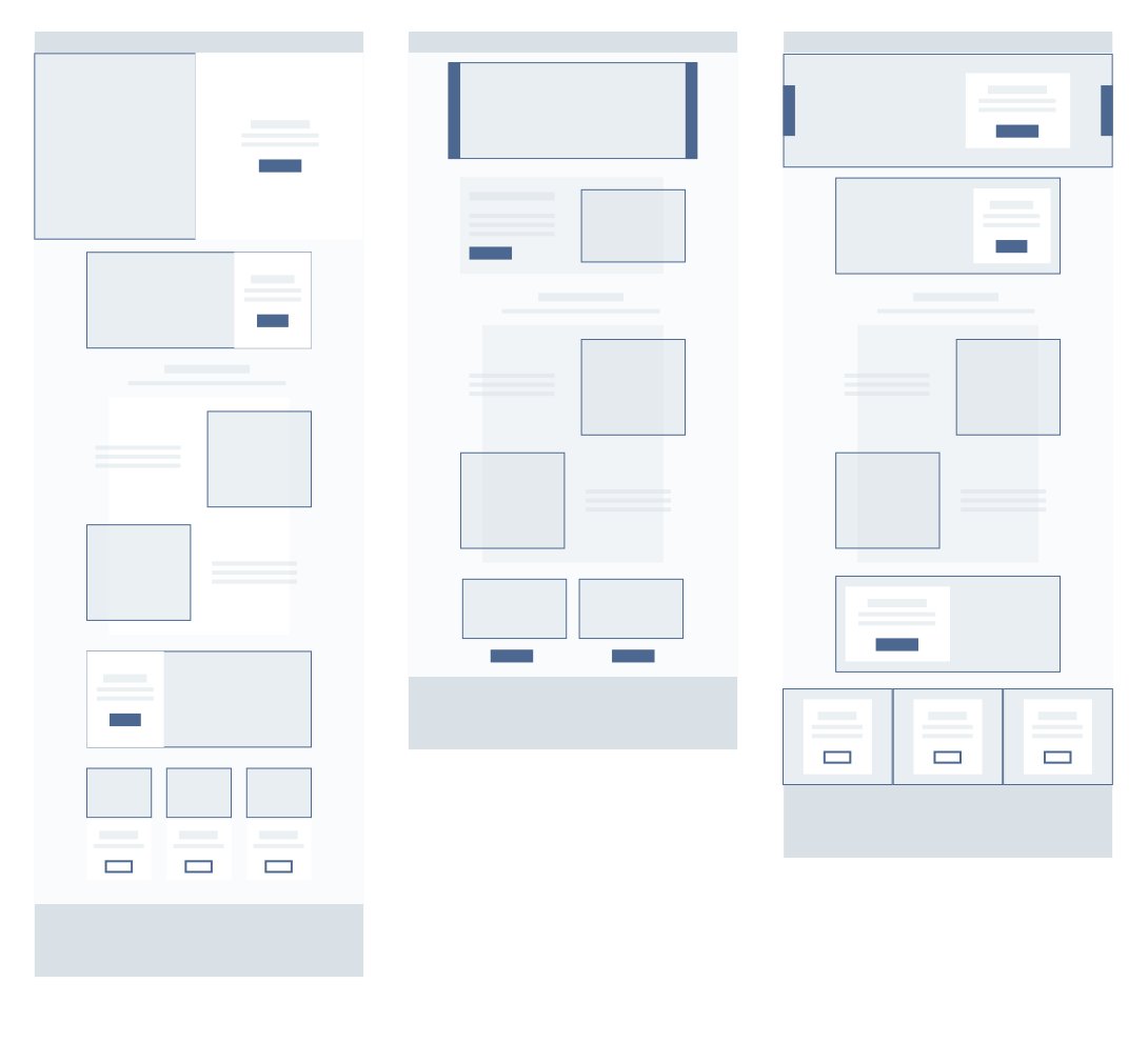 Youngs Wireframes